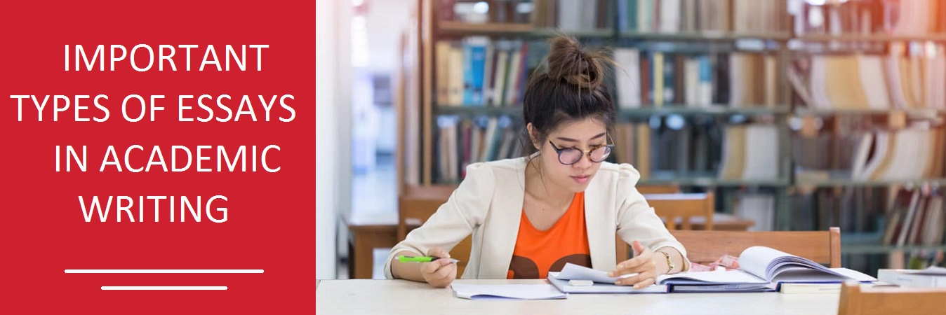 Important types of Essays in Academic Writing